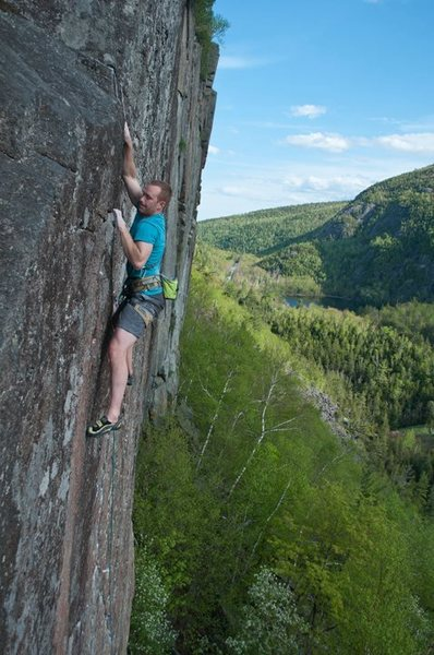 Rock Climbing Photo: Top of the pitch