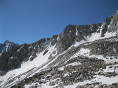 Rock Climbing Photo: Looking left of the North Buttress