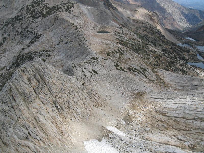 Rock Climbing Photo: Start of Northwest Ridge.