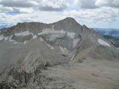 Rock Climbing Photo: North and East Ridges of Conness seen from North P...