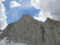 Rock Climbing Photo: Looking up part of the North Ridge.