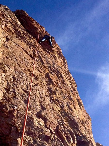 Rock Climbing Photo: Climbing Bye Crackie