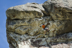 Rock Climbing Photo: Starting the steep section