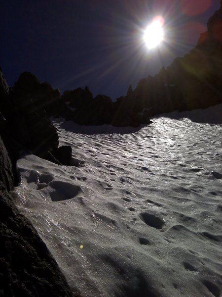Rock Climbing Photo: Shiny