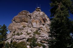 Rock Climbing Photo: As seen from the approach.  Most climbs are on thi...
