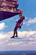 Rock Climbing Photo: Carter Mandrik, summer of 1993