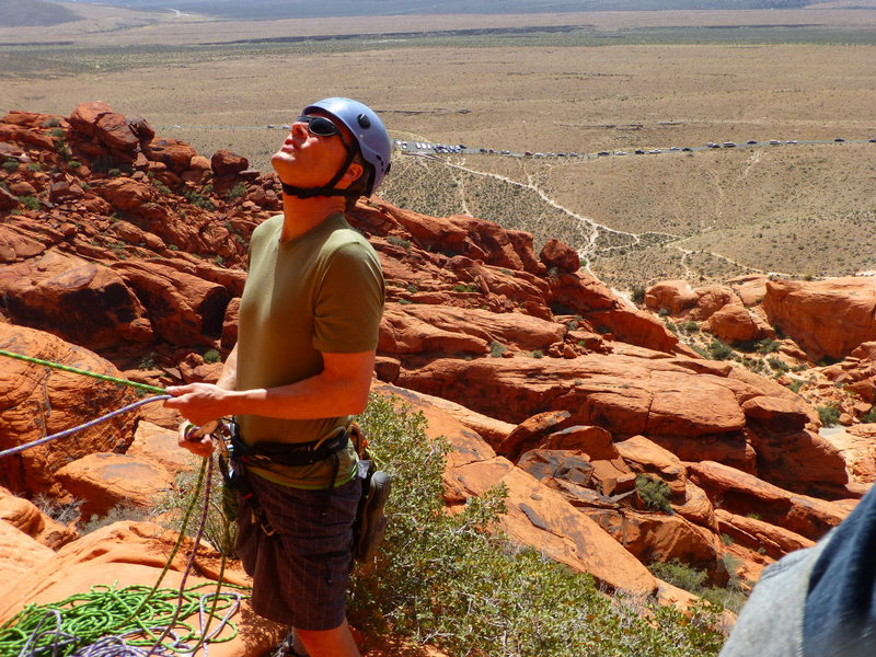 Belaying at Great Red Book