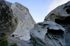 Rock Climbing Photo: Rye Crisp 5.8 in the City of Rock. The City isn't ...