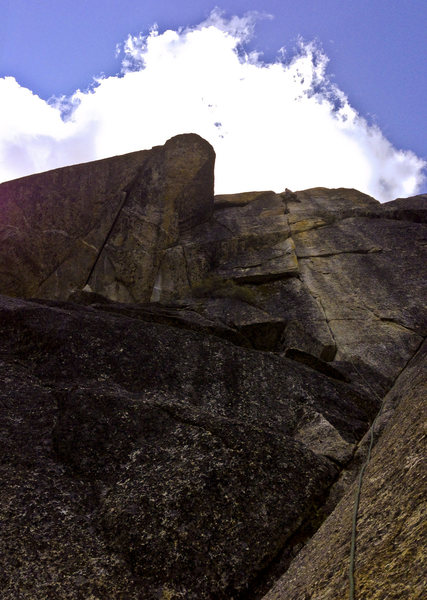 Rock Climbing Photo: Just absolutely Splitter.  Belay here if you've go...