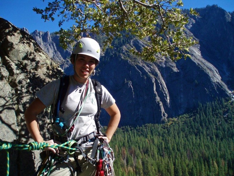Rock Climbing Photo: On After Six in Yosemite