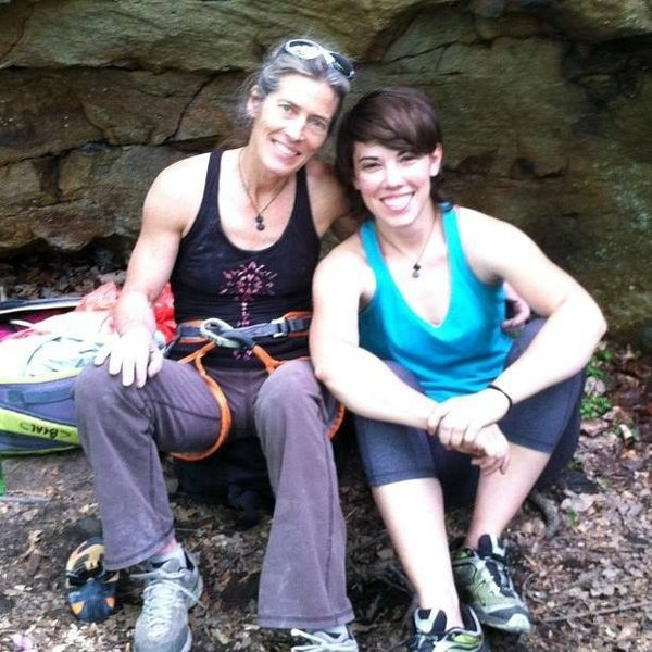 Climbing with Lynn Hill at the New