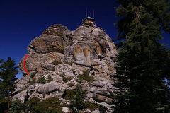 Rock Climbing Photo: Something like that