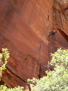 Rock Climbing Photo: Air time.   Photo: Niru Nukalapati