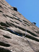 Rock Climbing Photo: P2 Sundial