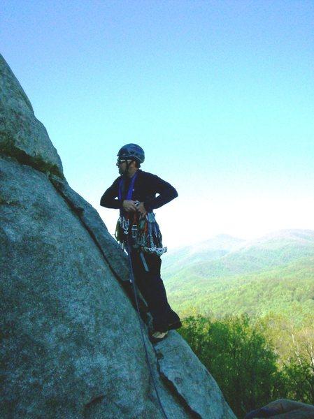 Rock Climbing Photo: P2 Nose