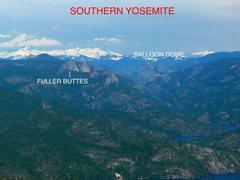 Rock Climbing Photo: Southern Yosemite