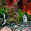 Beautiful springs up the Narrows.