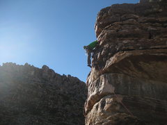 Rock Climbing Photo: Novelty Act