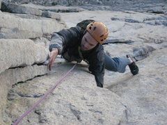 Rock Climbing Photo: Rob on Red Dihedral