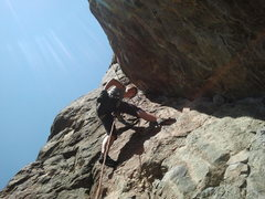 Rock Climbing Photo: Carie on p3 of people's choice