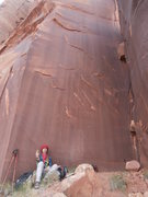 Rock Climbing Photo: fun in the shade on a hot day.. peace to all my fr...