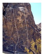 Rock Climbing Photo: Two short but sweet routes