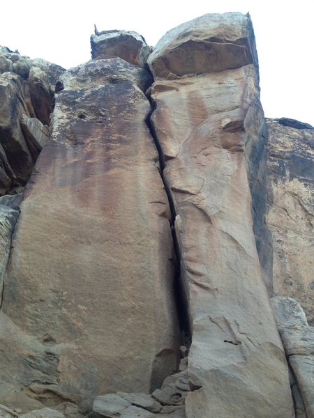 Rock Climbing Photo: Obvious ow crack
