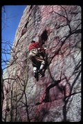 Rock Climbing Photo: Richard Goldstone on Richard's Reprieve, Two Pines...