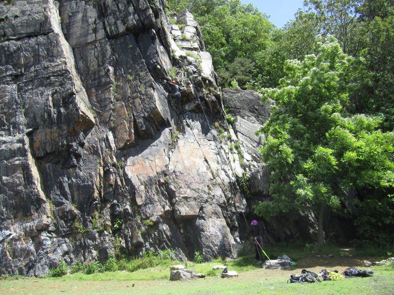Hollywood @ Chickies Rock on Main Wall