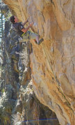 Rock Climbing Photo: The Crushing Dutchman Andre breezing thru Pegasus ...