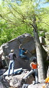 Rock Climbing Photo: Dobbe running a lap.