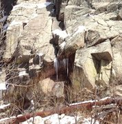 Rock Climbing Photo: Monster teeth.