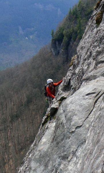 Rock Climbing Photo: White Side