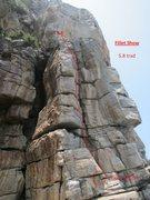 Rock Climbing Photo: beta topo