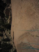 Rock Climbing Photo: Kat A. following P2 of Bishop's Jaggers (5.9) on T...