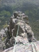 Rock Climbing Photo: One of the upper traverse pitches. You could begin...