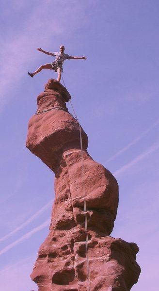 Rock Climbing Photo: Modern art?