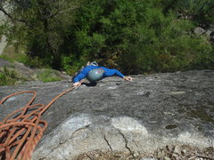Rock Climbing Photo: Leave My Face Alone