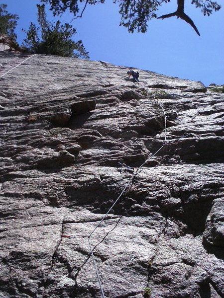 Rock Climbing Photo: 5.8 My Ass
