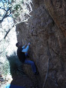 Rock Climbing Photo: Mule Shoe Boulder