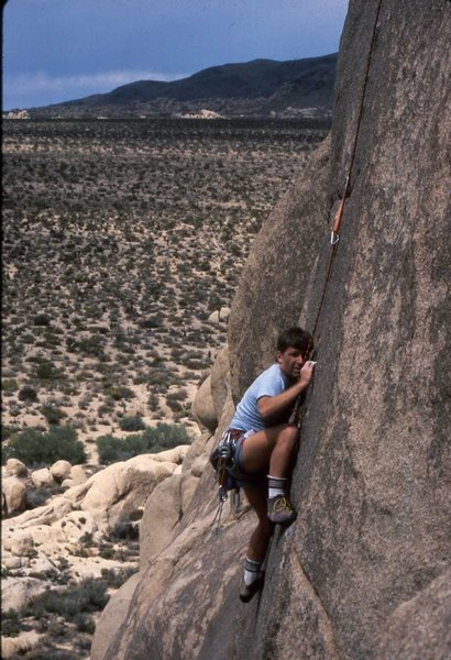 Rock Climbing Photo: Pete Bishop following 2nd ascent of Zen Goblins 19...