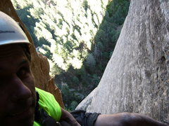 Rock Climbing Photo: big exposure and relaxed climbing on the last pitc...