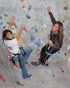 Rock Climbing Photo: climbing with one of my students