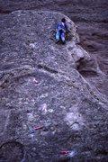 Rock Climbing Photo: Almost home.  All Photos: Glen Short