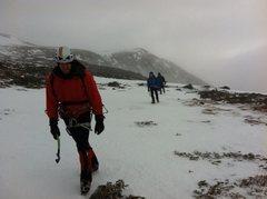Rock Climbing Photo: The Alpine Garden, after ascending Pinnacle Gully,...