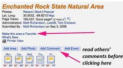 Rock Climbing Photo: area detail