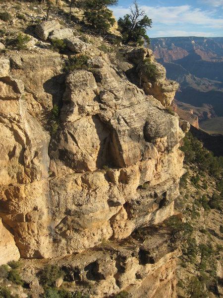 Rock Climbing Photo: Holey Terror
