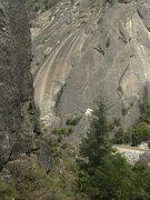 Rock Climbing Photo: Gemini starts at tree closest to white triangle ro...
