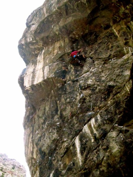 Rock Climbing Photo: Clear Creek Golden, CO.