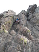 Rock Climbing Photo: Fun route with great movement.